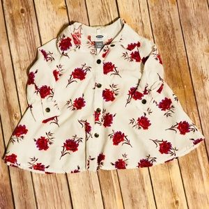 12-18MO Old Navy  floral top